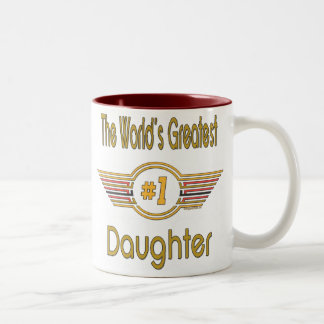 World's Best Daughter Gifts Coffee Mugs