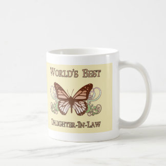 World's Best Daughter-In-Law (Butterfly) Coffee Mug