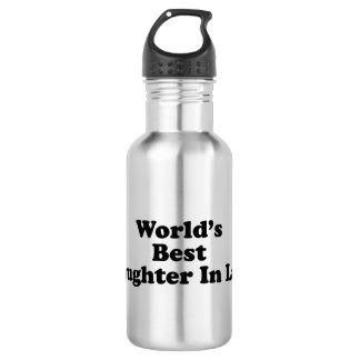 World's Best Daughter in Law Water Bottle