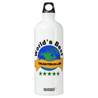 World's Best Daughter-In-Law Water Bottle