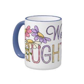 Worlds Best Daughter Ringer Mug