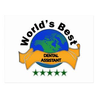 World's Best Dental Assistant Postcard