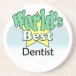 World's best Dental Dentist Onderzetter Voor Drankjes