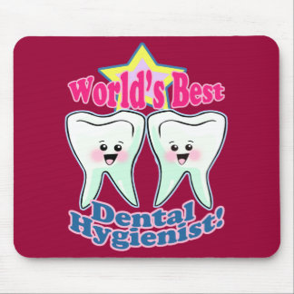 Worlds Best Dental Hygienist Mouse Pad
