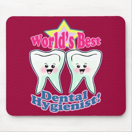 Worlds Best Dental Hygienist Mousepads