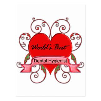 World's Best Dental Hygienist Post Cards