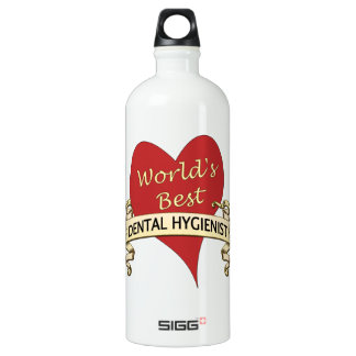 World's Best Dental Hygienist Water Bottle