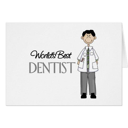 Worlds Best Dentist Card