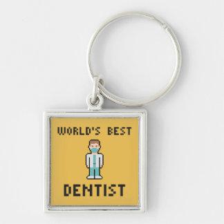 World's Best Dentist Keychain
