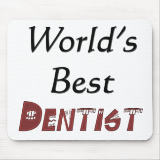 World's Best Dentist Mouse Pad