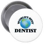 World's Best Dentist Pin