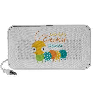 Worlds Best Dentist Laptop Speakers