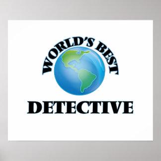 World's Best Detective Print