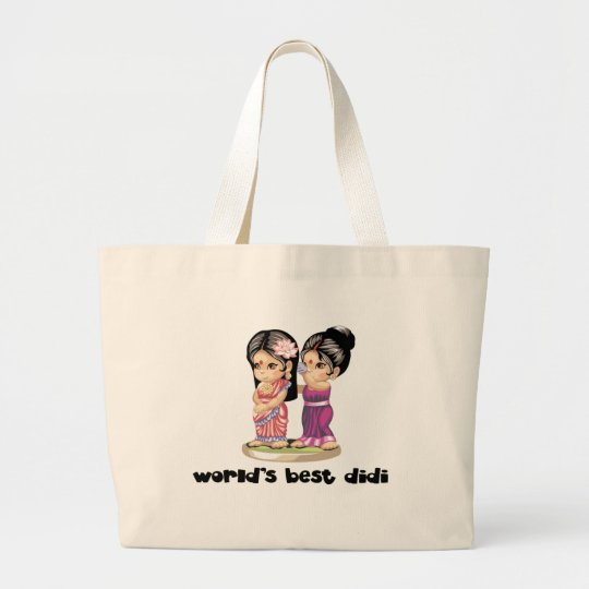 World's Best Didi Large Tote Bag