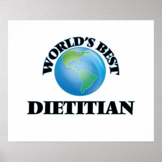 World's Best Dietitian Poster
