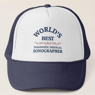 World's best Dignostic Medical Sonographer Trucker Hat