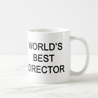 WORLD'S BEST DIRECTOR COFFEE MUG