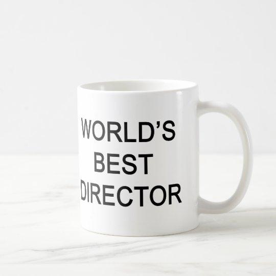 WORLD'S BEST DIRECTOR COFFEE MUG
