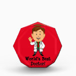 """World&#39;s Best Doctor Award<br><div class=""""desc"""">A great gift for a doctor who has done something nice for you.</div>"""