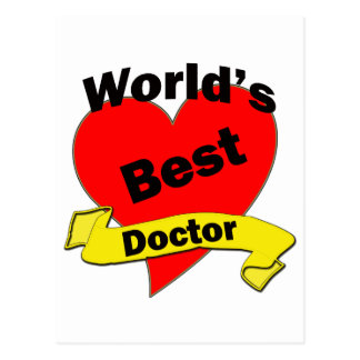 World's Best Doctor Postcards