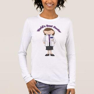 World's Best Doctor Woman Long Sleeve T-Shirt