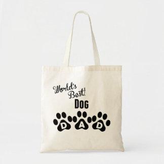 World's Best Dog Dad Budget Tote Bag