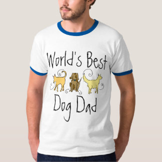 World's Best Dog Dad T-Shirt