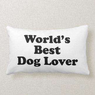 World's Best Dog Lover Pillows