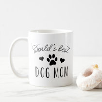 World's Best Dog Mom Coffee Mug