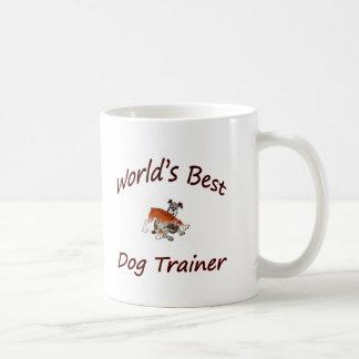World's Best Dog Trainer Classic White Coffee Mug