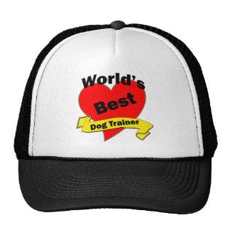 World's Best Dog Trainer Hats