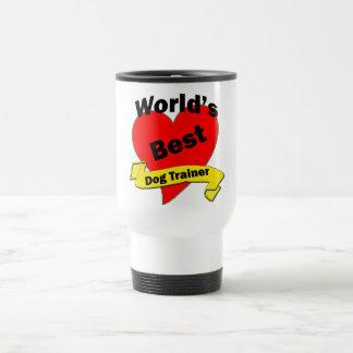 World's Best Dog Trainer 15 Oz Stainless Steel Travel Mug