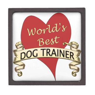 World's Best Dog Trainer Premium Keepsake Box