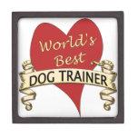 World's Best Dog Trainer Premium Jewelry Box