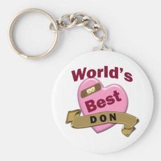 World's Best DON Keychain