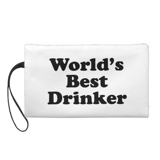 World's Best Drinker Wristlet Purse