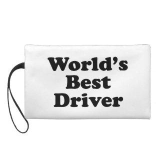 World's Best Driver Wristlet Purse