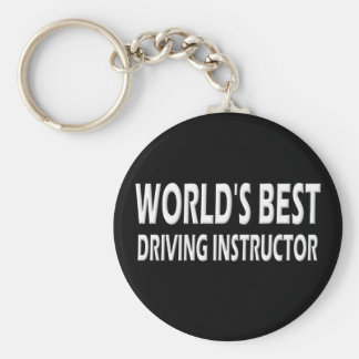 World's Best Driving Instructor Keychain