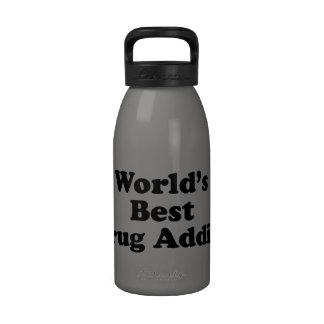 World's Best Drug Addict Water Bottles
