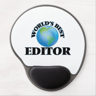 World's Best Editor Gel Mousepad