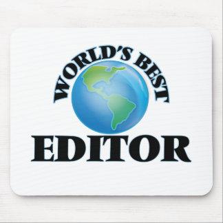 World's Best Editor Mousepad