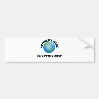 World's Best Egyptologist Car Bumper Sticker