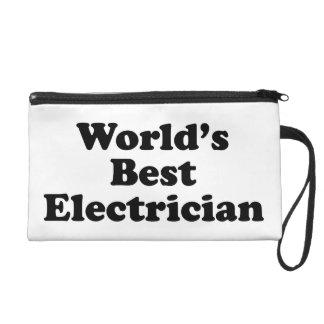 World's Best Electrician Wristlet