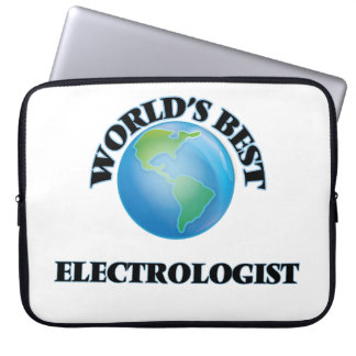 World's Best Electrologist Laptop Computer Sleeves
