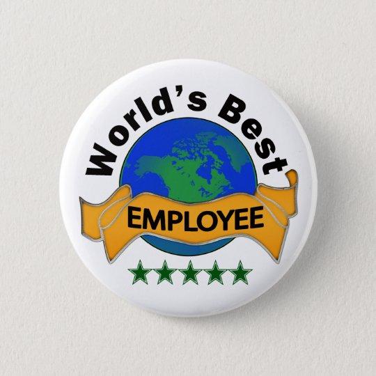 World's Best Employee Button
