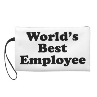World's Best Employee Wristlet