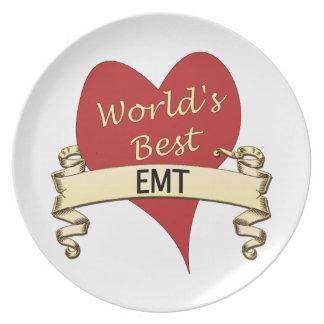 World's Best EMT Dinner Plate