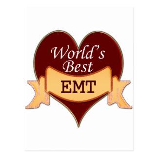 World's Best EMT Postcard