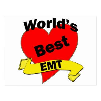 World's Best EMT Post Card
