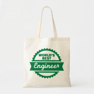 World's best Engineer Budget Tote Bag